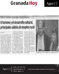 Granada Hoy - El turismo y el desarrollo cultural, principales salidas de empleo rural