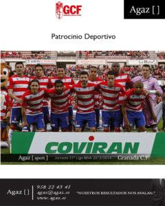 Granada CF - Patrocinio Deportivo